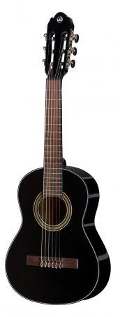 Konzertgitarre Student black  1/4 velikost black