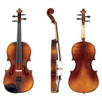 Housle Allegro-VL1  3/4 Setup, včetně tvarového pouzdra, Massaranduba smyčce, AlphaYue struny