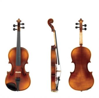Housle Allegro-VL1  1/2 Setup, včetně houslového pouzdra, Massaranduba smyčec, AlphaYue struny