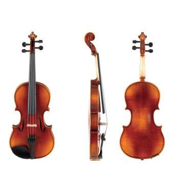 Housle Ideale-VL2  1/2 Setup, včetně houslového pouzdra, Massaranduba smyčce, AlphaYue strun