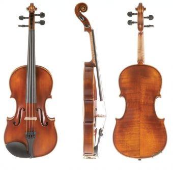 Housle Allegro-VL1  1/16 Setup, včetně tvarového pouzdra, Massaranduba smyčce, AlphaYue struny