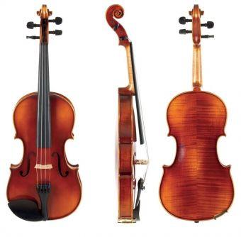 Housle Ideale-VL2  4/4 včetně Setup a houslového pouzdra, bez smyčce, včetně strun AlphaYue